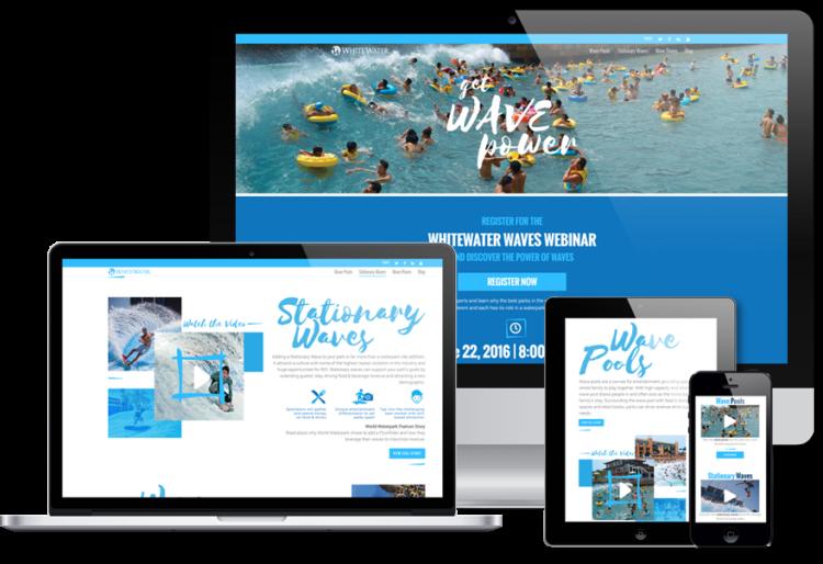 mobile and tablet website designs